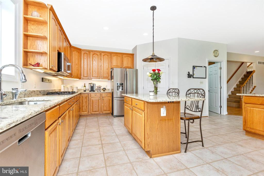 Kitchen - 3639 WHEAT MILLER DR, MOUNT AIRY