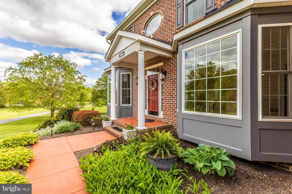 Front Walk - 3639 WHEAT MILLER DR, MOUNT AIRY