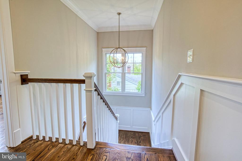Stairs to 2nd floor-same model, different location - 6716 31ST ST N, ARLINGTON
