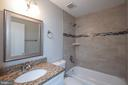 Beautiful large shower stall in MBR bath - 14090 RED RIVER DR, CENTREVILLE