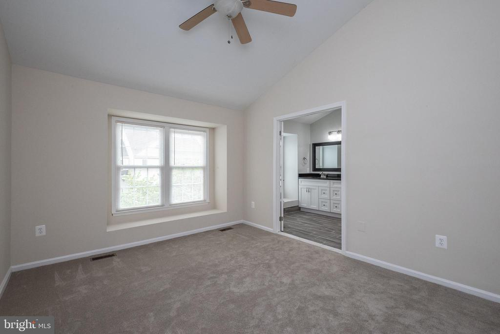 Master Bedroom with ceiling fan - 14090 RED RIVER DR, CENTREVILLE