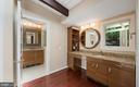 Owners' remodeled bathroom - 104 FOGLE DR, ANNAPOLIS