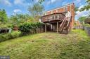 Large, fenced yard - 36 S INGRAM ST, ALEXANDRIA