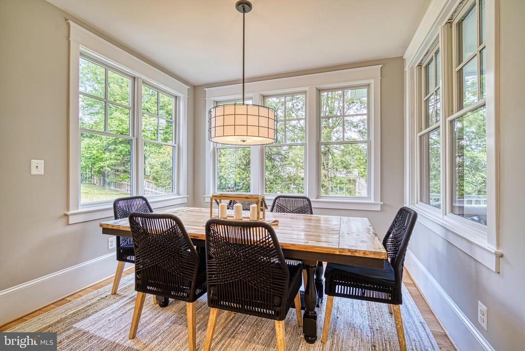 Sun-filled breakfast nook - 3511 N POTOMAC ST, ARLINGTON