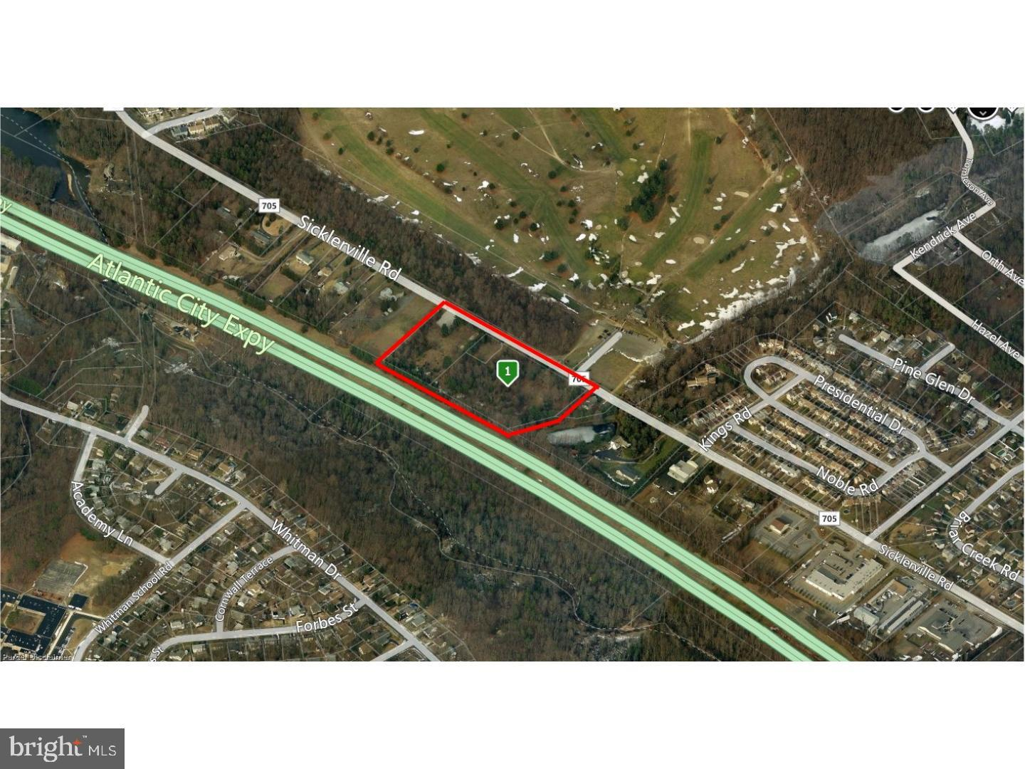 Land for Sale at Sicklerville, New Jersey 08081 United States