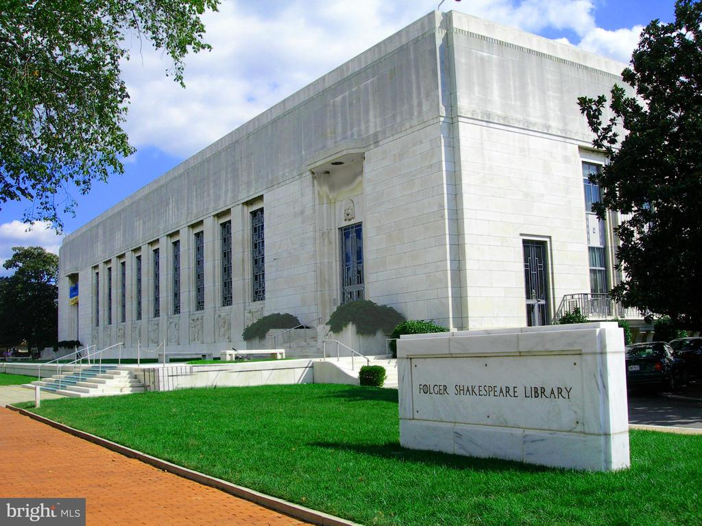 The Folger Shakespeare Library - 719 NORTH CAROLINA AVE SE, WASHINGTON