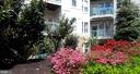 view of condo from courtyard - 12001 MARKET ST #177, RESTON