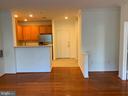 Tile  n hardwoods throughout (pic taken Prepaint) - 12001 MARKET ST #177, RESTON