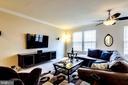 Large Living Room with Ceiling Fan/Light - 7109 SILVERLEAF OAK RD #164, ELKRIDGE