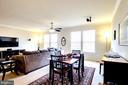 Bright, Open Dining Area - 7109 SILVERLEAF OAK RD #164, ELKRIDGE
