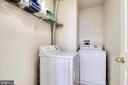 Bedroom Level Laundry/Washer/Dryer Included - 7109 SILVERLEAF OAK RD #164, ELKRIDGE
