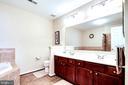 Master Bath with Double Bowl Vanity - 7109 SILVERLEAF OAK RD #164, ELKRIDGE