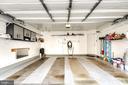 2 Car Garage with Painted Walls, Shelves & Opener - 7109 SILVERLEAF OAK RD #164, ELKRIDGE