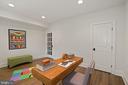French door ensures quiet for Zoom meetings - 5010 25TH RD N, ARLINGTON