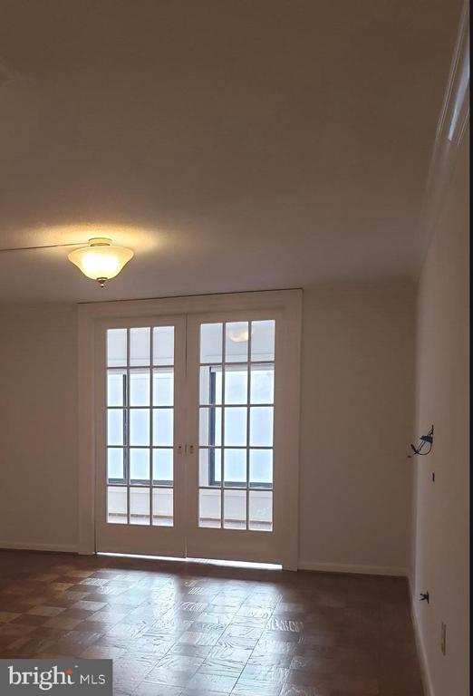 HIDE AWAY FRENCH DOORS SEPARATING ROOMS - 1718 P ST NW #207, WASHINGTON
