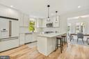Stunning kitchen - 2710 S ARLINGTON RIDGE RD, ARLINGTON