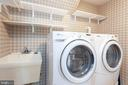Front loading washer and dryer - 2150 CHESAPEAKE HARBOUR DR, ANNAPOLIS