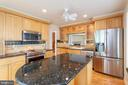 Granite counter-tops, stainless steel appliances - 2150 CHESAPEAKE HARBOUR DR, ANNAPOLIS