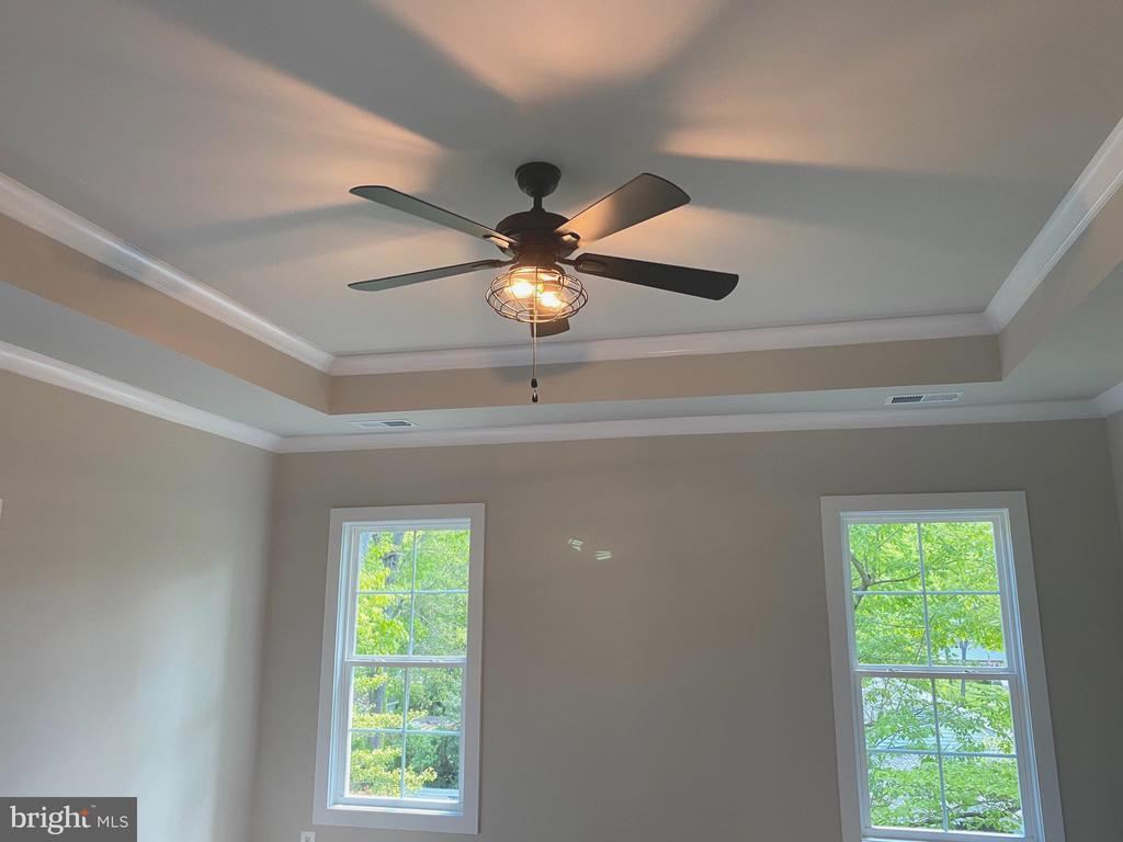 Master Suite Ceiling Fan- Tray ceiling - 8604 NORFOLK AVE, ANNANDALE