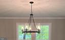 Dining Area Fixture - 8604 NORFOLK AVE, ANNANDALE