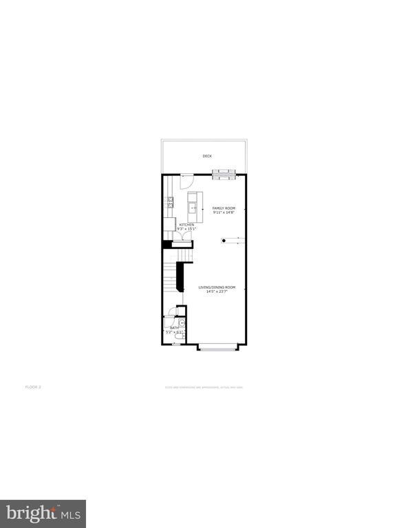 Main level floorplan - 116 WATERLINE CT, ANNAPOLIS