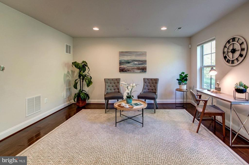 Entry level office/recreation room - 116 WATERLINE CT, ANNAPOLIS