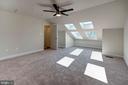 Master suite #3 w/ architectural/skylight windows - 116 WATERLINE CT, ANNAPOLIS