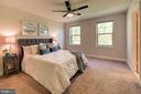 Master suite #1 with treed views - 116 WATERLINE CT, ANNAPOLIS