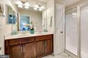 Master bath #1 w/ dual sinks & step-in shower - 116 WATERLINE CT, ANNAPOLIS