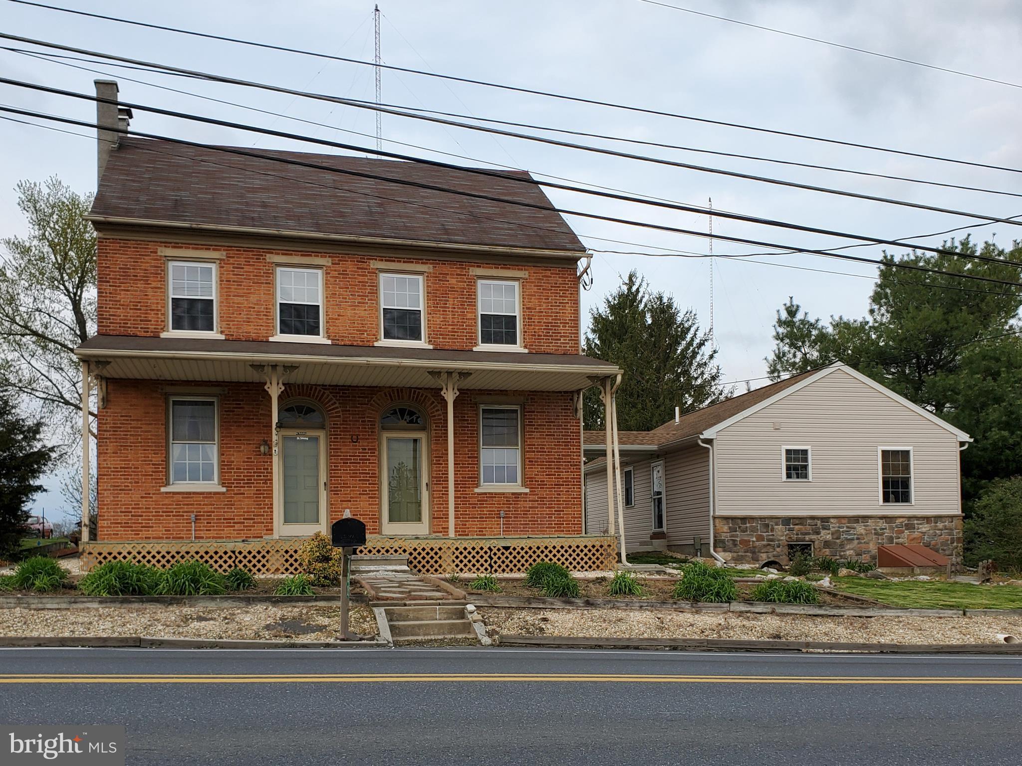 Historical Coleman family farmhouse