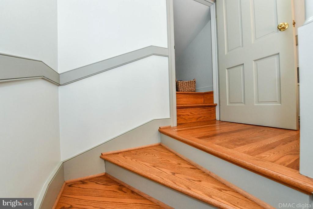 Stairway closet - 200 MAGNOLIA AVE, FREDERICK