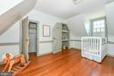 Bedroom # 2 ~ attic  bonus rm through closet - 200 MAGNOLIA AVE, FREDERICK