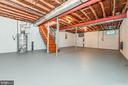 Large unfinished basement - 200 MAGNOLIA AVE, FREDERICK