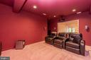 Theater Room - 6513 FOLDED LEAF SQ, COLUMBIA