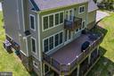 Aerial View - Rear of Home - 10920 RAVENWOOD DR, MANASSAS