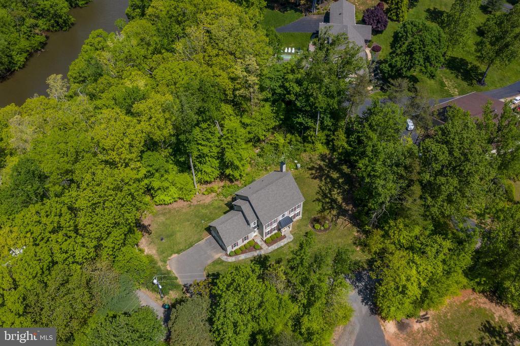 Aerial View - 10920 RAVENWOOD DR, MANASSAS
