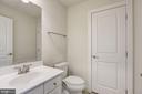 Lower Level Half Bath - 20622 DUXBURY TER, ASHBURN