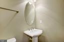Powder Room w/ Pedestal Sink - 20622 DUXBURY TER, ASHBURN