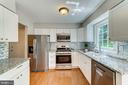 Stainless steel appliances and granite counters - 1331 STOKLEY WAY, VIENNA