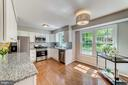 Upgraded kitchen - 1331 STOKLEY WAY, VIENNA