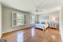 Expansive master bedroom - 1331 STOKLEY WAY, VIENNA