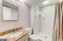 Full bath on lower level - 1331 STOKLEY WAY, VIENNA