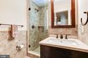 Full bath on hall - 2 CUMBERLAND CT, ANNAPOLIS