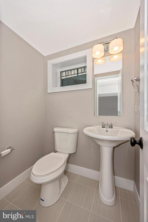 Powder Room Lower Level - 5606 FOREST PL, BETHESDA