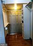 Walk-in closet with built-in organizer - 200 MAGNOLIA AVE, FREDERICK