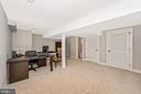 Fully Finished Basement w/ Walkout - 5606 FOREST PL, BETHESDA