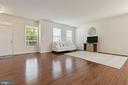 Main level Hardwood Floors - 450 EMBREY MILL RD, STAFFORD