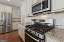 Gas Stove and Built-in Microwave - 450 EMBREY MILL RD, STAFFORD