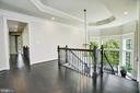 Upper Level Landing and Tray Ceiling - 13029 HIGHGROVE RD, HIGHLAND