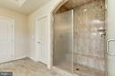 Master Walk-in Shower & Dual Shower - 13029 HIGHGROVE RD, HIGHLAND